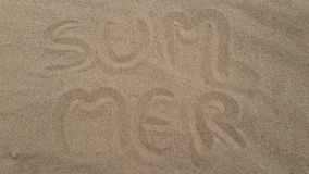 Summer sand Stock Images