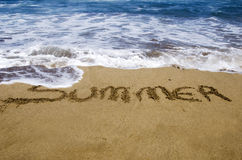 Summer on  sand Stock Photography
