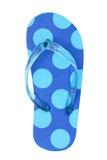 Summer sandal. One summer sandal isolated on white background royalty free stock photo