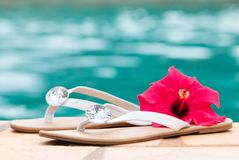 Summer Sandals Stock Image