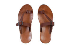 Summer sandals royalty free stock photo