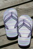 Summer Sandals Royalty Free Stock Photography