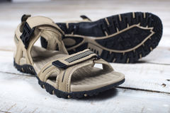 Summer sandals Royalty Free Stock Image
