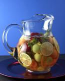 Summer Sangria Stock Photos