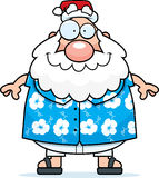 Summer Santa Royalty Free Stock Photography