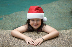 Summer Santa Christmas Royalty Free Stock Images