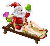 Summer Santa Royalty Free Stock Image