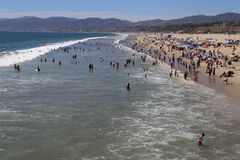 Summer in Santa Monica Royalty Free Stock Images