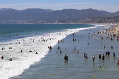 Summer in Santa Monica Stock Image