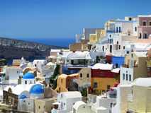 Summer in Santorini Royalty Free Stock Photos