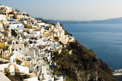Summer in Santorini Stock Photos