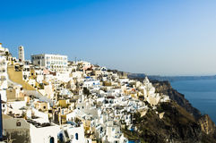 Summer in Santorini Stock Photo