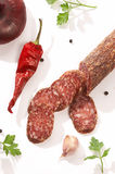 Summer sausage Royalty Free Stock Image