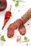 Summer sausage Royalty Free Stock Image