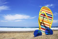 Free Summer Scene Royalty Free Stock Photo - 752745