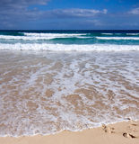 A Summer Scene,Beach and Waves,coastline Stock Photo