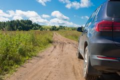 Travel by car Stock Photography
