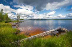 Summer scene, finland Stock Photo