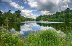 Summer scene, Fonthill Lake Stock Photography