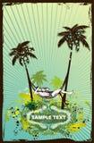 Summer scene-illustration stock illustration