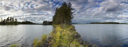 Summer scene at lake Royalty Free Stock Image