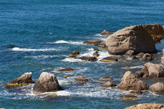 Summer scene on sea Stock Photo