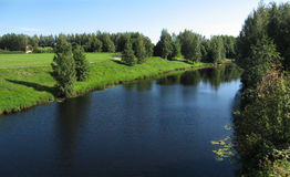 Summer scenery stock image