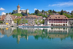 Summer in Schaffhausen Royalty Free Stock Photography