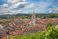 Summer in Schaffhausen Stock Image