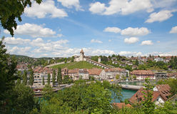 Summer in Schaffhausen Stock Photo