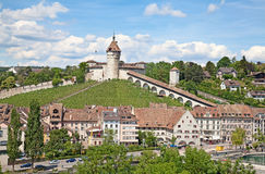 Summer in Schaffhausen Stock Images