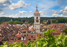 Summer in Schaffhausen Royalty Free Stock Image