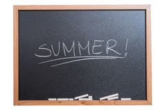 Summer School Break Royalty Free Stock Photos