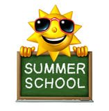 Summer School royalty free illustration