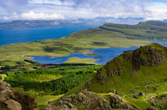Summer in the Scotland highlands Royalty Free Stock Photography