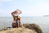 Summer by the sea Stock Photo