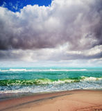 Summer sea background stock photography