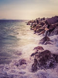 Summer sea background. Royalty Free Stock Image