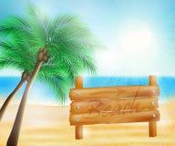 Summer sea beach Royalty Free Stock Photo
