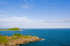 Summer. Sea coast. Stock Photo