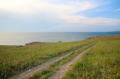 Summer sea coast Stock Photo