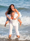 Summer Sea Couple Royalty Free Stock Photos