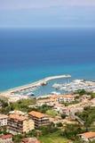Summer sea landscape stock photo