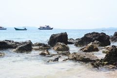 Summer Sea Landscape Stock Image