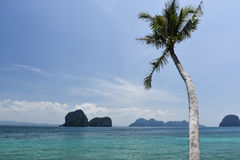 Summer sea. This is a photo of sea in Thailand Royalty Free Stock Photo