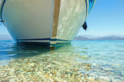 Summer sea ship Royalty Free Stock Photography