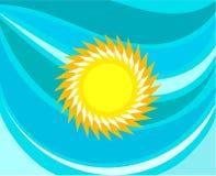 Summer sea and sun Stock Photos