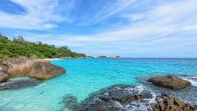 Summer sea in Thailand Stock Photo