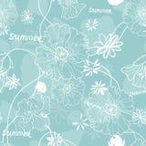 Summer seamless pattern Royalty Free Stock Photos
