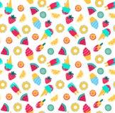 Summer seamless pattern. Seamless background . Vector illustration 10 EPS. Summer seamless pattern. Seamless background . Vector illustration 10 EPS Royalty Free Illustration